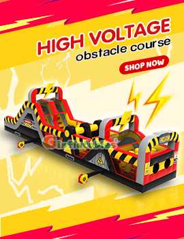 High voltage obstacle course