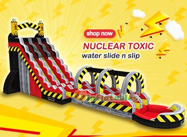 Nuclear toxic water slide n slip