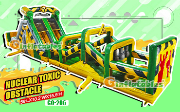 GO-206 Nuclear toxic obstacle with detachable pool and stopper
