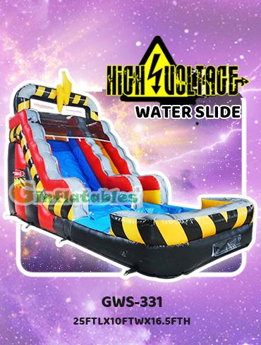 GWS-331 High voltage water slide